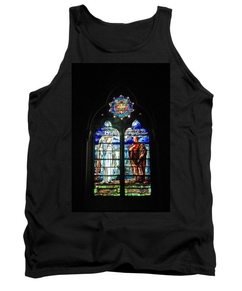 Church Of The Covenant Stained Glass 11 Tank Top