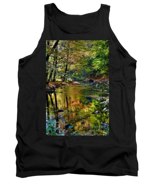 Tank Top featuring the photograph Color Creek by Robert Pearson