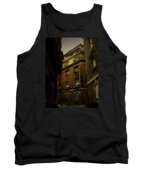 Tank Top featuring the photograph Crime Alley by Salman Ravish