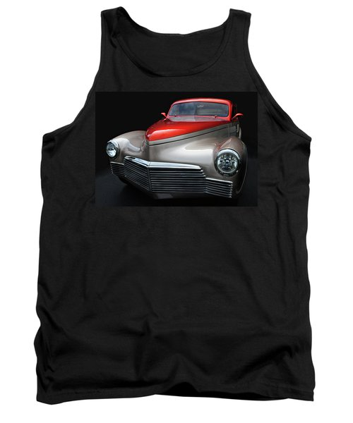 Tank Top featuring the photograph Custom Car Detail by Dave Mills
