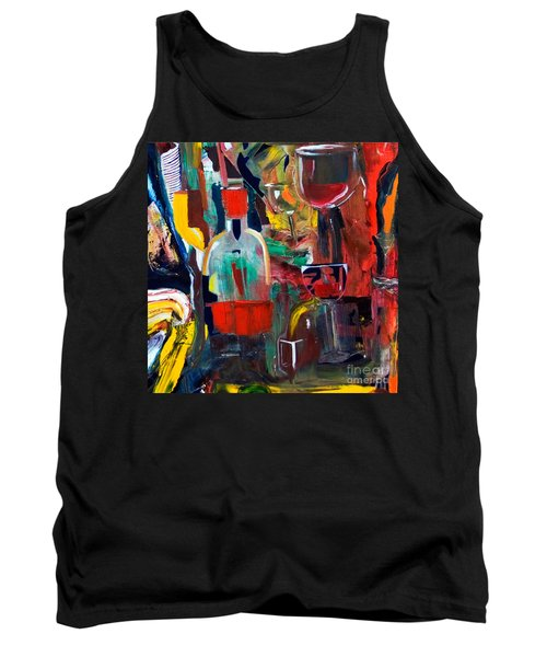 Cut IIi Wine Woman And Music Tank Top