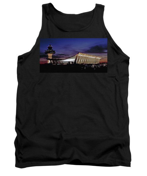 Dulles International Tank Top by Greg Reed