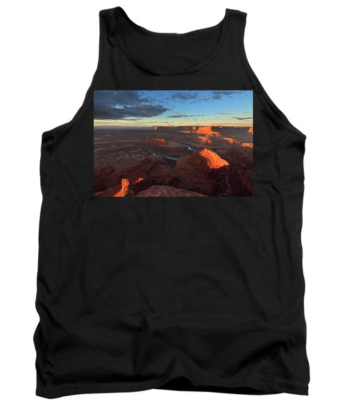 Early Morning At Dead Horse Point Tank Top