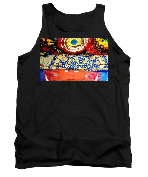 Tank Top featuring the photograph Eye On Fabrics by Michael Hoard