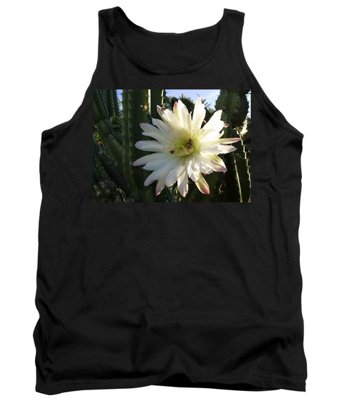 Flowering Cactus 1 Tank Top