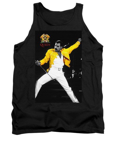 Freddie Mercury Live In Wembley1986    Tank Top