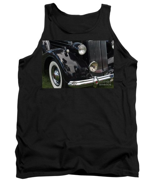 Tank Top featuring the photograph Front Side Of A Classic Car by Gunter Nezhoda