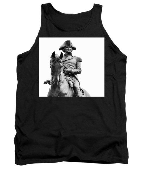 George Washington Statue Boston Ma Tank Top