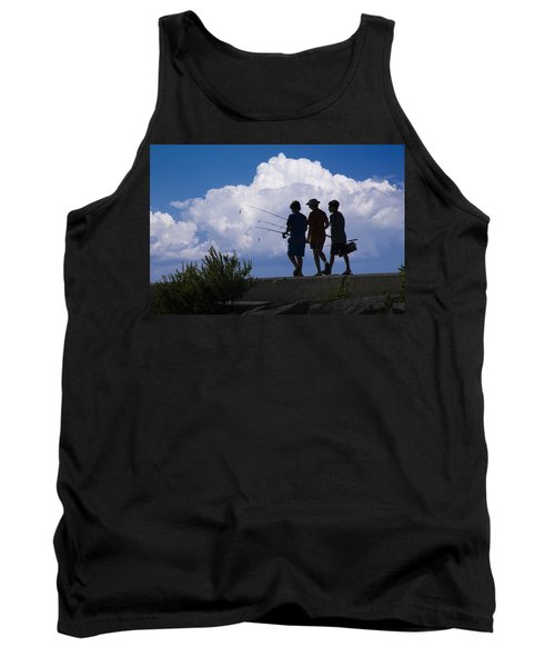 Going Fishing Tank Top