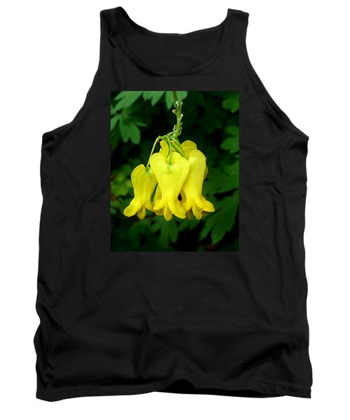 Golden Tears Vine Tank Top by William Tanneberger