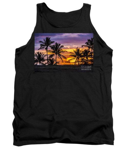 Hawaiian Sunset Tank Top by Juli Scalzi