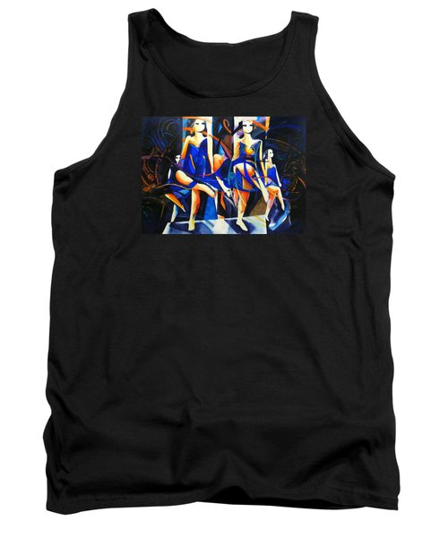 Tank Top featuring the painting In Time by Georg Douglas
