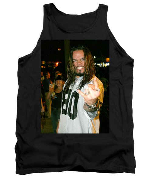 Tank Top featuring the photograph Josey Scott  Saliva by Don Olea