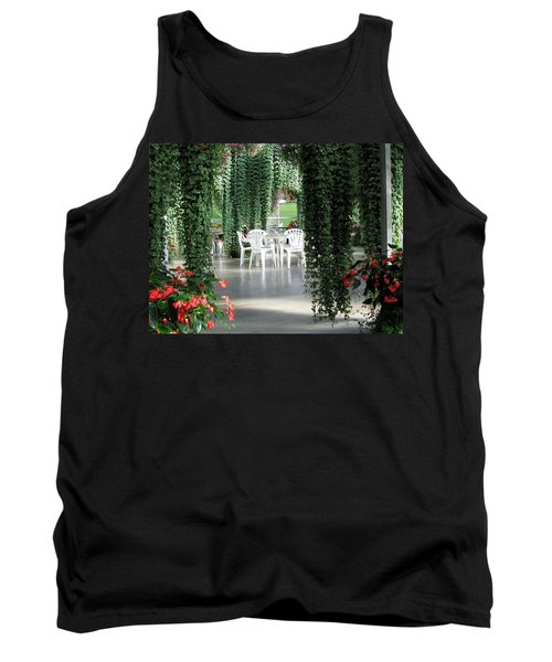 Tank Top featuring the photograph Juneau Glacier Gardens by Jennifer Wheatley Wolf
