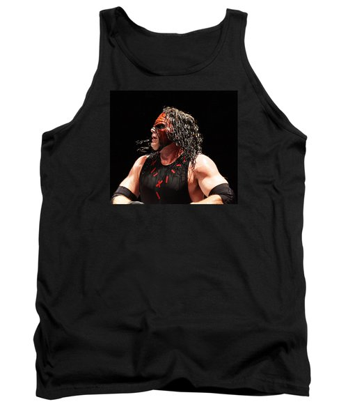 Kane The Wrestler Tank Top by Paul  Wilford