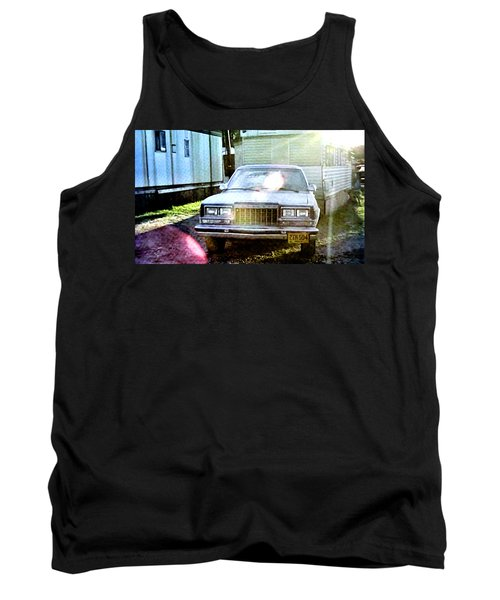 Tank Top featuring the painting Lets Rock by Luis Ludzska