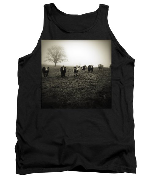 Livestock Tank Top by Les Cunliffe