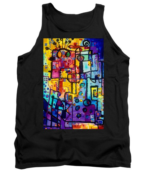 Lost Papers And Urban Plans Tank Top