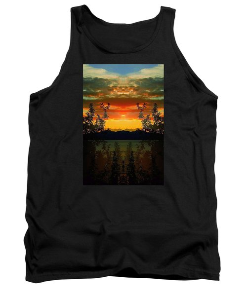 Tank Top featuring the photograph Marsh Lake - Yukon by Juergen Weiss