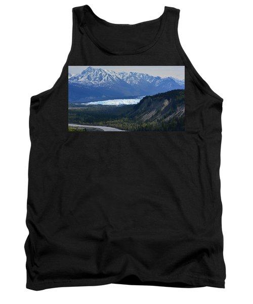 Matanuska Glacier Tank Top by Andrew Matwijec