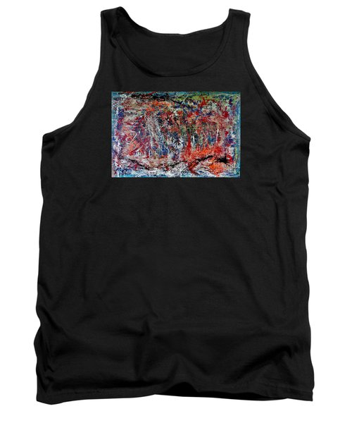 Tank Top featuring the painting Nature Walk In The Yakima Delta by Lisa Kaiser
