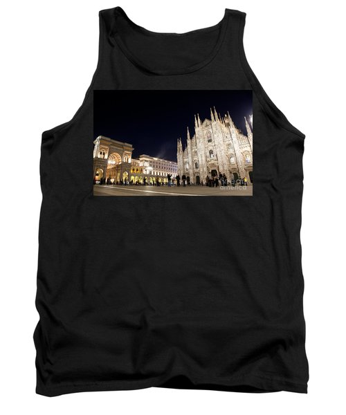 Milan Cathedral Vittorio Emanuele II Gallery Italy Tank Top