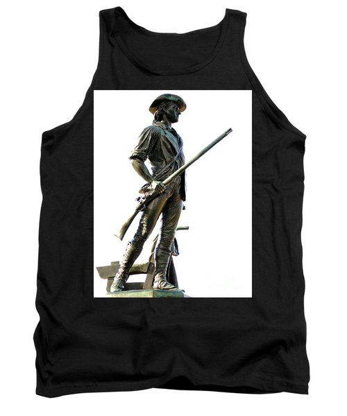 Minute Man Statue Concord Ma Tank Top