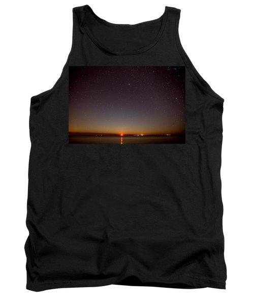 Moonrise On Tybee Island Tank Top