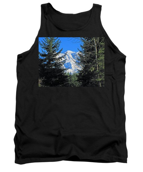 Tank Top featuring the photograph Mt. Rainier I by Tikvah's Hope