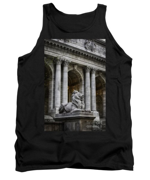 Ny Library Lion Tank Top