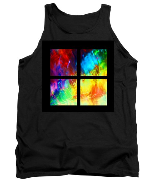 Tank Top featuring the photograph Physical Graffiti 1 Series Layout by Dazzle Zazz