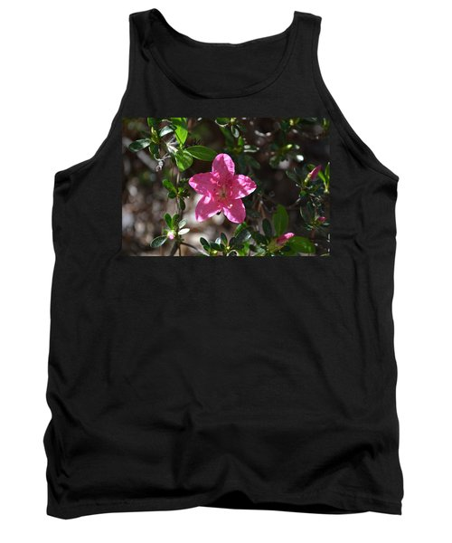 Tank Top featuring the photograph Pink Flower by Tara Potts