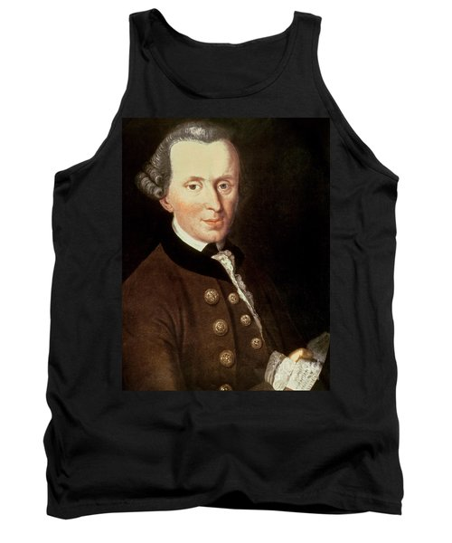 Portrait Of Emmanuel Kant Tank Top