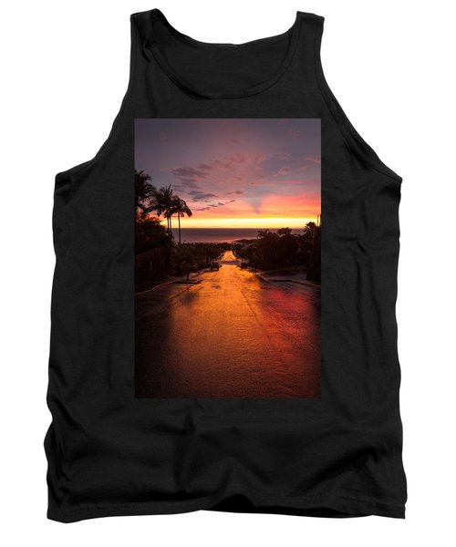 Sunset After Rain Tank Top
