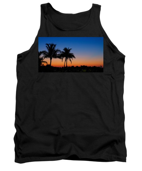Sanibel Island Florida Sunset Tank Top