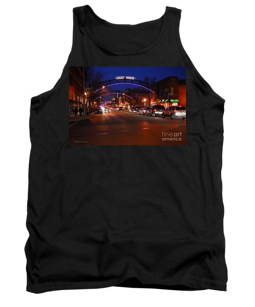D8l353 Short North Arts District In Columbus Ohio Photo Tank Top