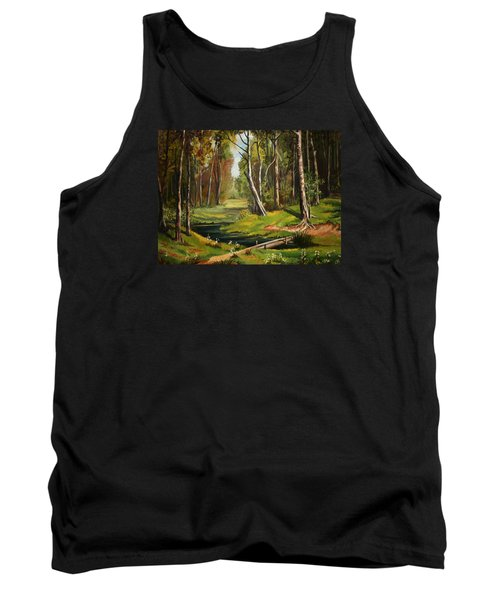 Silence Of The Forest Tank Top