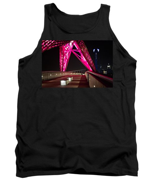 Tank Top featuring the photograph Skydance Walkway by Lana Trussell