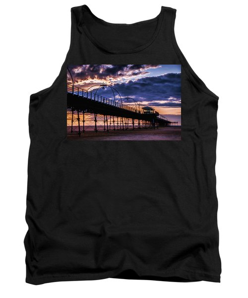 Southport Pier At Sunset Tank Top