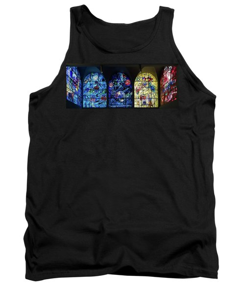 Stained Glass Chagall Windows Tank Top