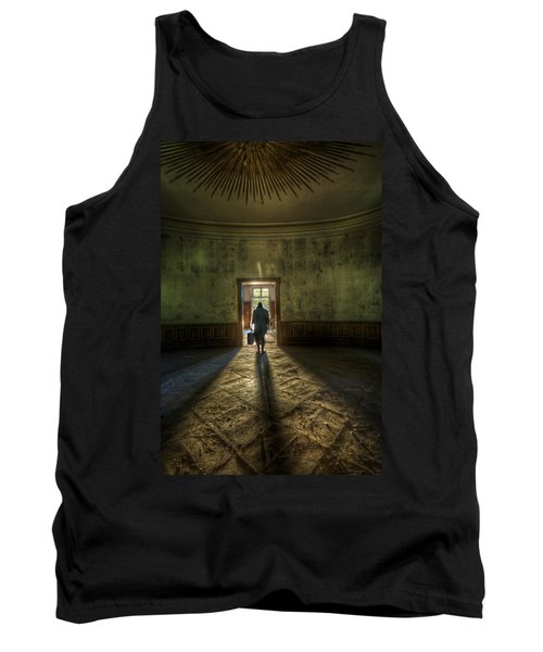 Step Into The Light Tank Top by Nathan Wright