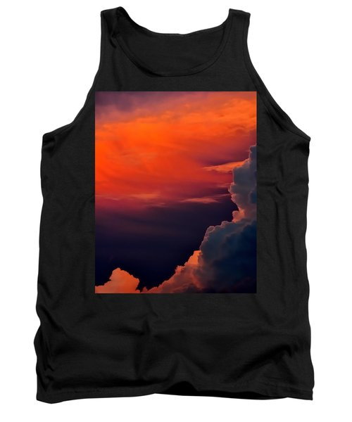 Storm Moving In 16101 Tank Top by Jerry Sodorff