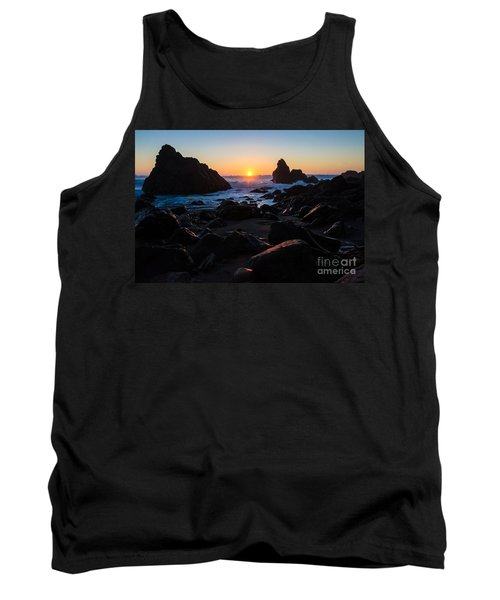 Sun Kissed Tank Top by CML Brown