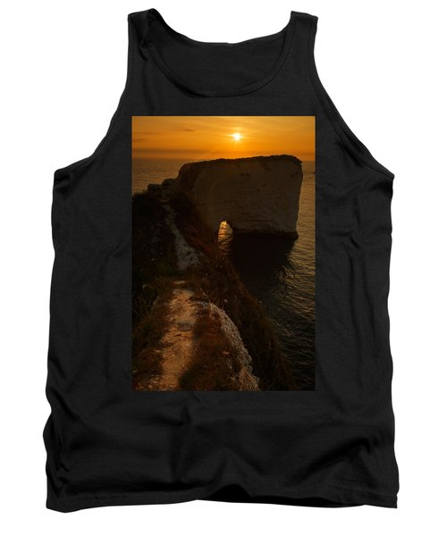 Sunrise At Old Harry Rocks Tank Top