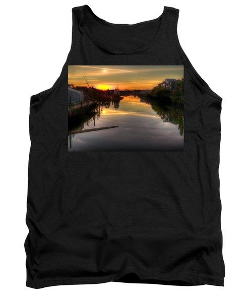 Sunrise On The Petaluma River Tank Top by Bill Gallagher