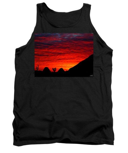 Sunset In The Desert Tank Top