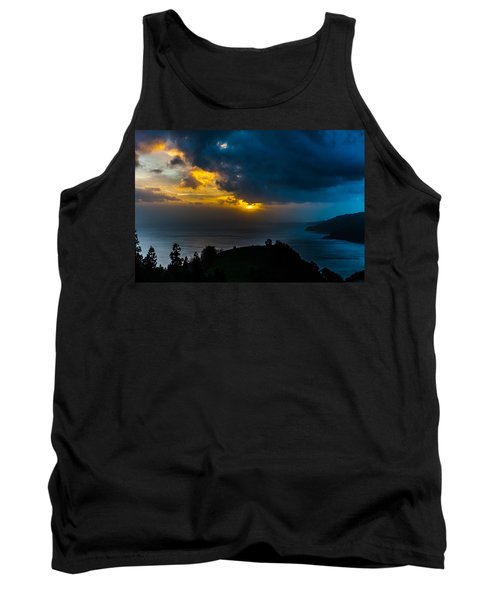 Sunset Over Blue Tank Top