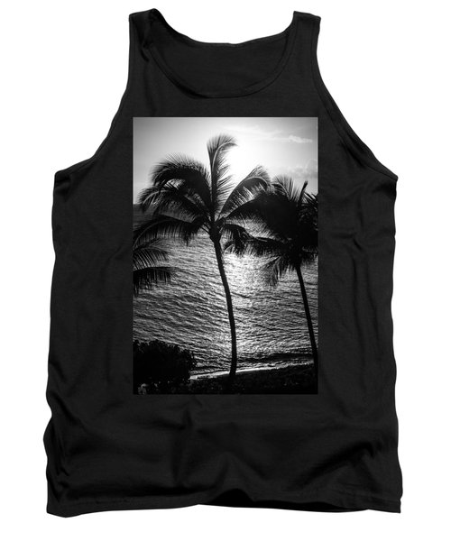 Sunset Silhouette Tank Top
