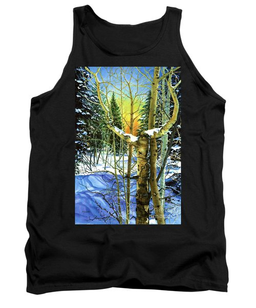 Tank Top featuring the painting Supplication-psalm 28 Verse 2 by Barbara Jewell