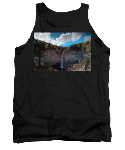 Tank Top featuring the photograph Taughannock Falls Ithaca New York by Paul Ge